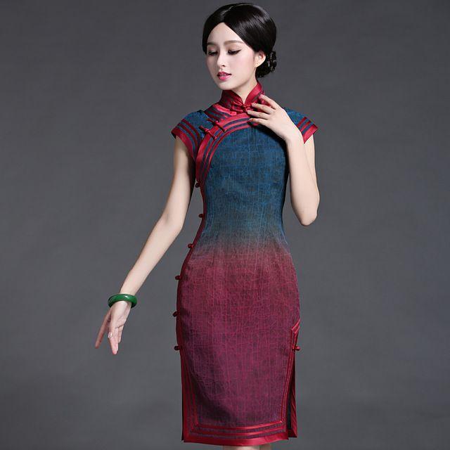 Elegant Asian Dress