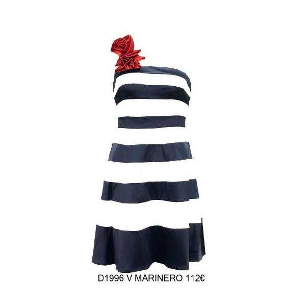 Vestido marine rose