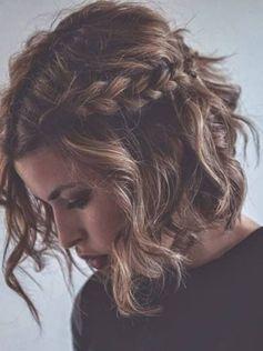 Einfache Flechtfrisuren für kurze Haare | ELLE