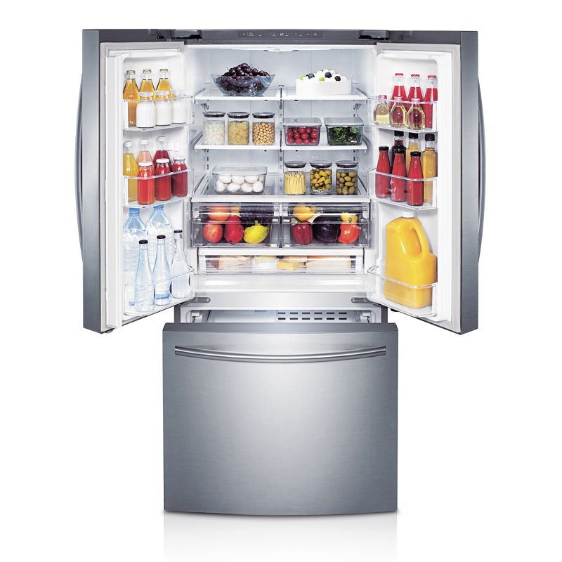 Samsung 30 21 6 Cu Ft French Door Refrigerator Stainless Steel