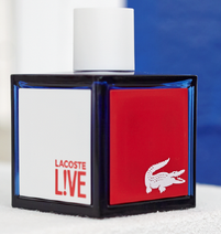 FREE $$ Sample of Lacoste L!VE Fragrance!