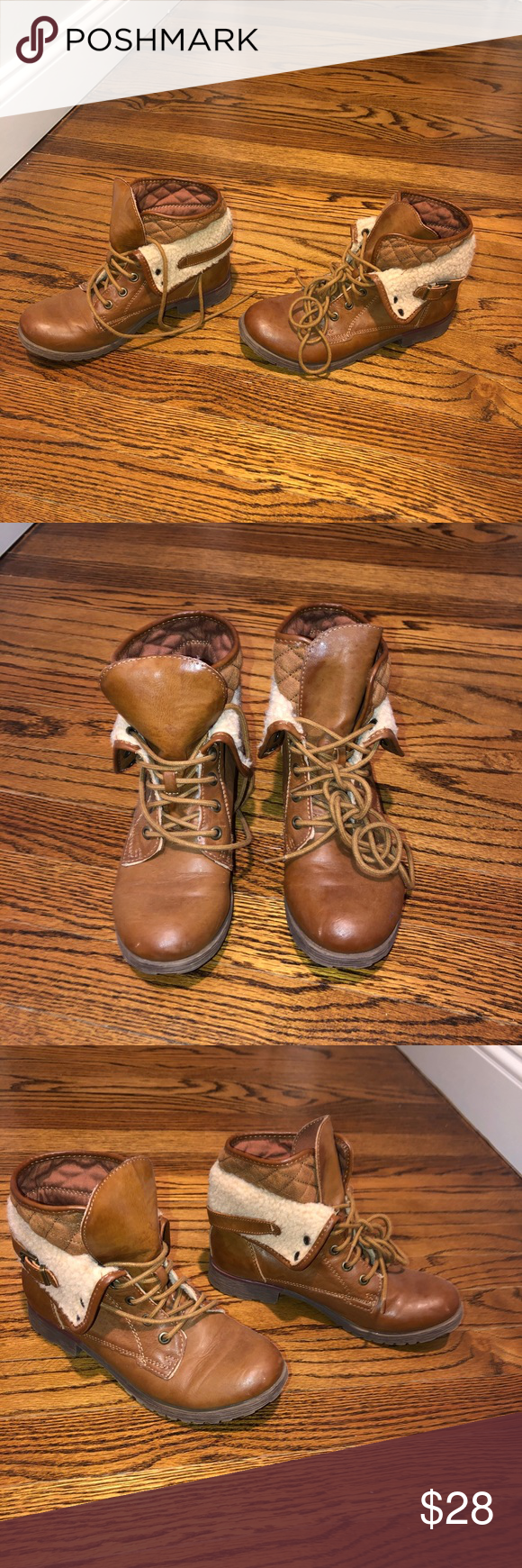 Booties!!! Cute booties from Macy's!  Women's size 6!  Barely worn! Great condition! Rock & Candy Shoes Ankle Boots & Booties #myposhpicks