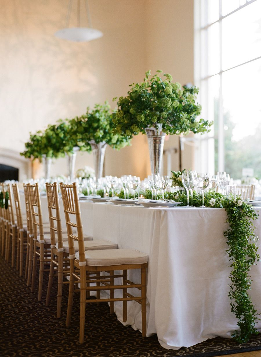 San francisco modern wedding from josh gruetzmacher long for Wedding greenery ideas