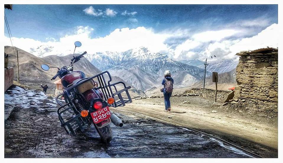 Motorbike Tour In Nepal Photo Gallery Nepal Travel Trip