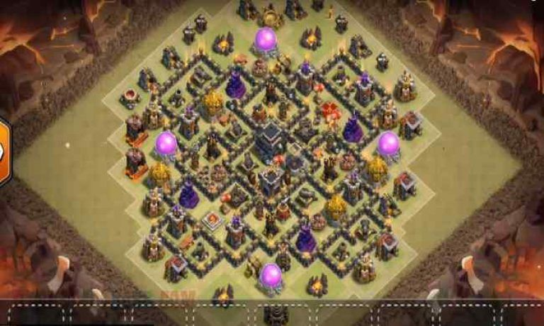 Th9 War Base Anti Everything With Tower Type 9