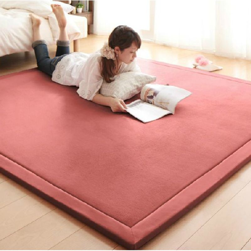 Find More Carpet Information About 2cm Thick Coral Fleece Mat Carpet 180 200 2cm Tatami Tea Table Manually B Bedroom Carpet Large Area Rugs Rugs In Living Room