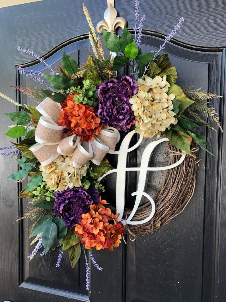 Photo of New! Front Door Wreath, Wreath for Front Door Wreath, Year Round Wreath, Wreaths, Home Decor, Spring Wreaths, Fall Wreaths