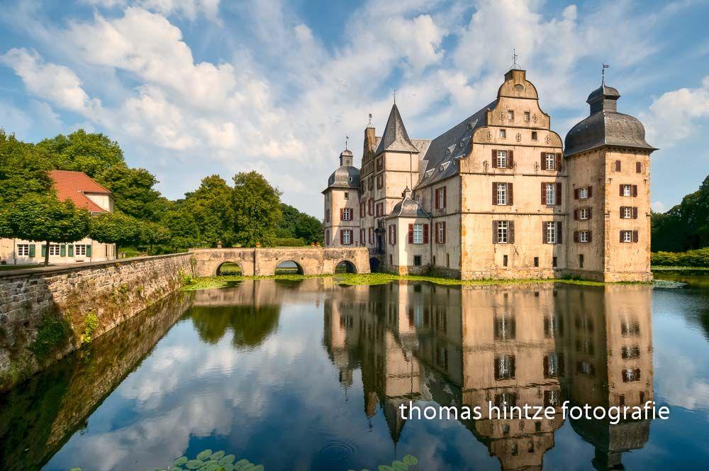 Moated Water Castle Bodelschwingh, Dortmund, Germany ~ hintze-photo.com