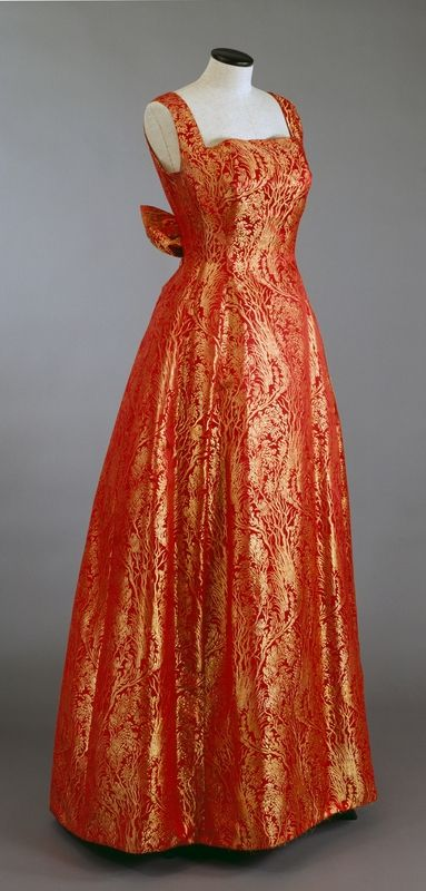 Formal dress, Molstad & Co., 1959.
