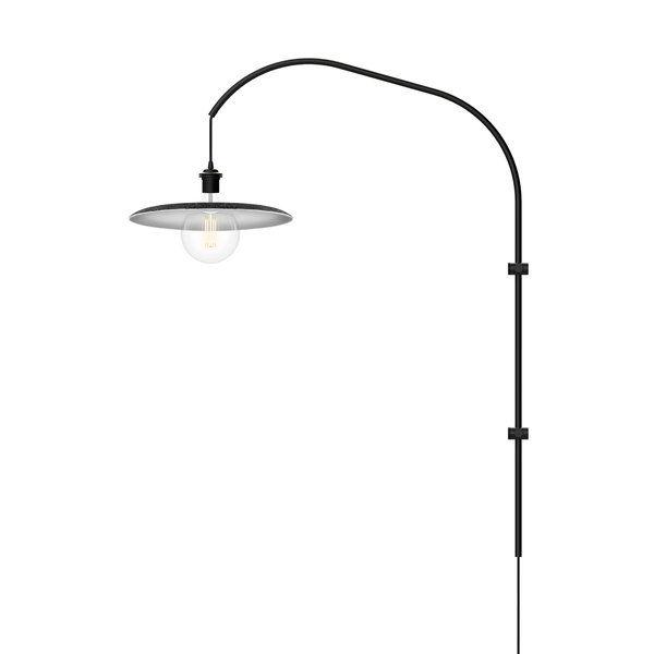 Shade Felt 1 Light Led Swing Arm Lighting Wall Sconces - Modern-swing-pendant-light-by-monochro-design-studio