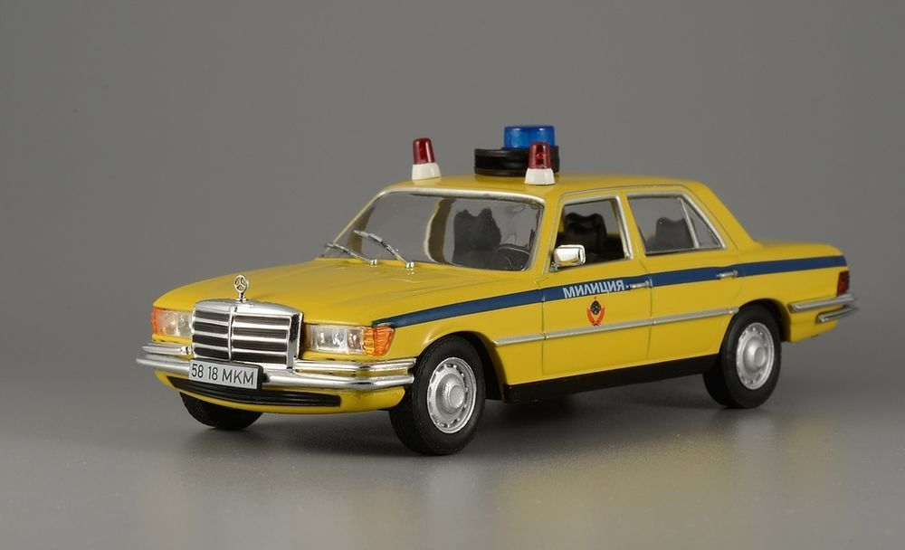 Mercedes Benz 450 Sel 1 43 Deagostini Police Model 22 World Mercedesbenz450sel