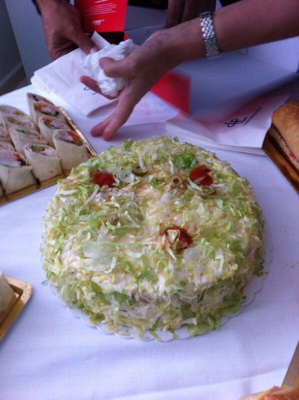 Tarta de pan Bimbo
