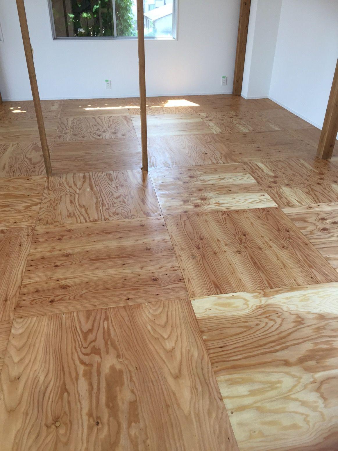 京都府長岡京市でオフィスの床塗装 ポリウレタンクリアー 2020