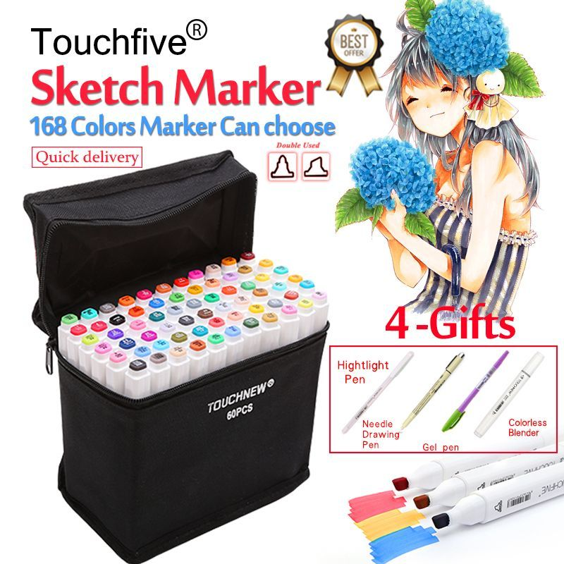 Learn To Draw Manga Sketch markers, Marker art, Sketches