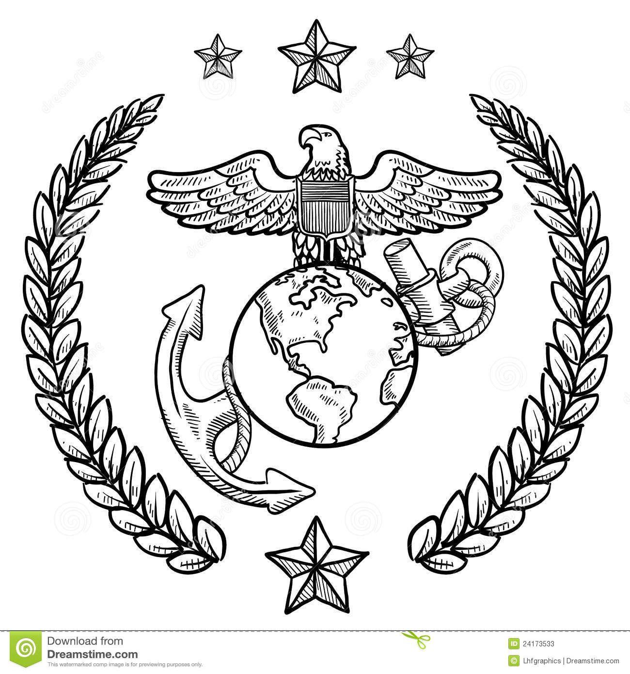 Marine Symbol Clip Art Emblem