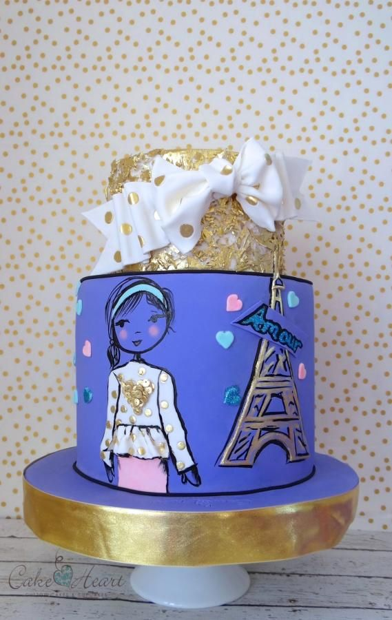 Amour - Cake by Cake Heart