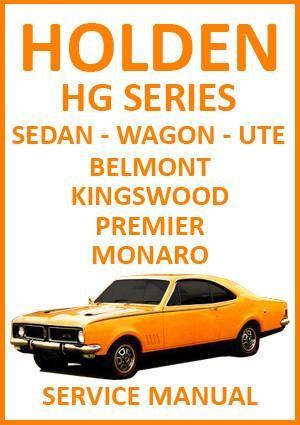 holden hg belmont kingswood premier 1970 1971 workshop manual rh pinterest com holden barina car manual holden captiva car manual