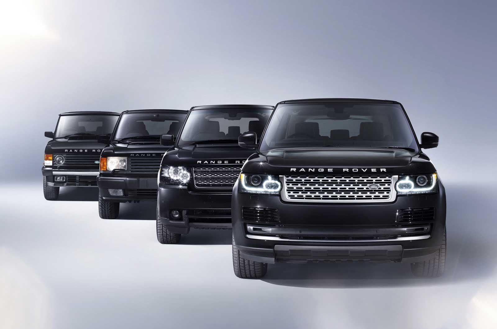 Range Rover evolution