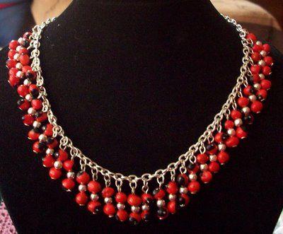 1bdc9c407f9b Collar de plata y huayruros