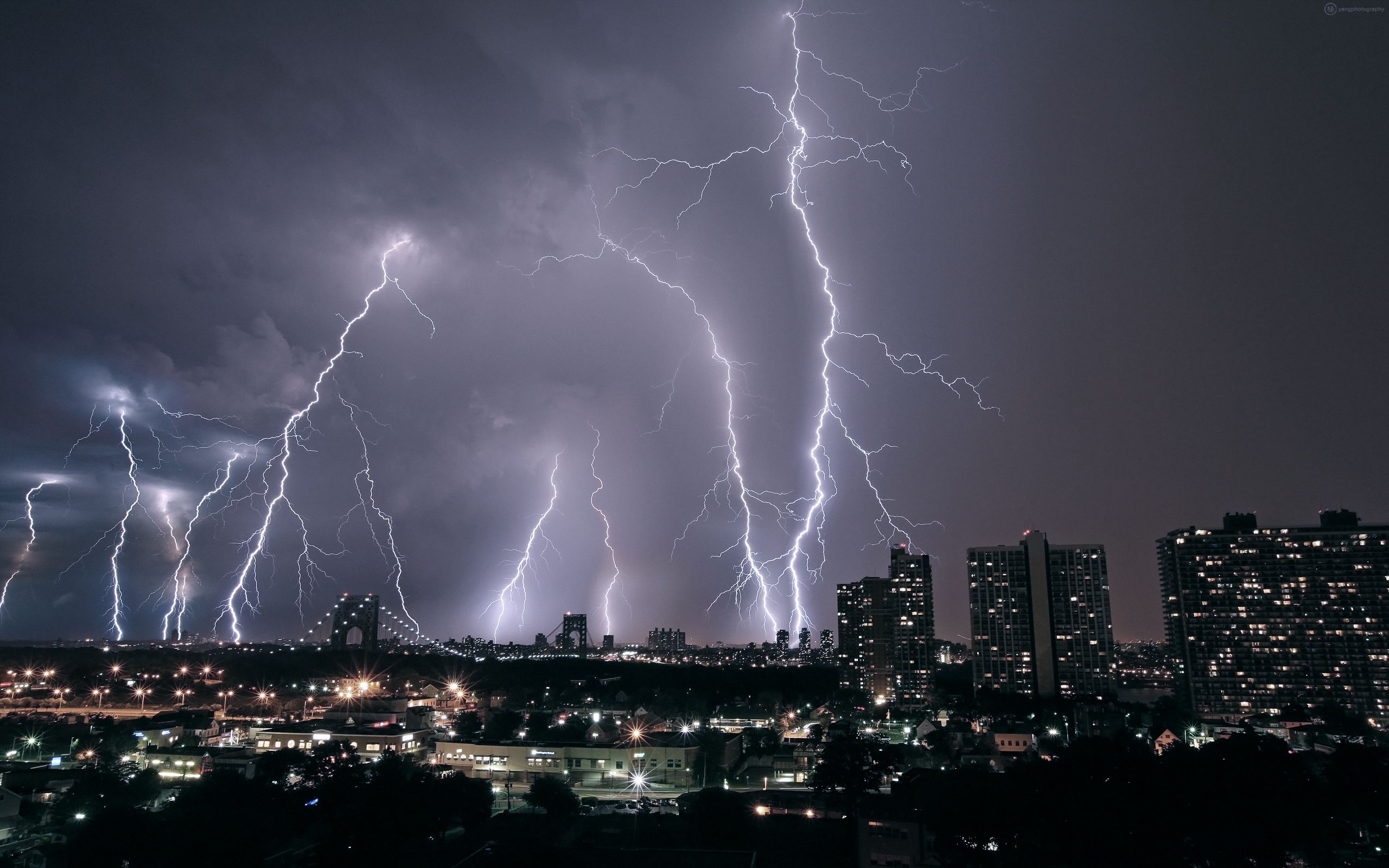 Nature Wallpaper Lightning Storm Wallpaper Phone for