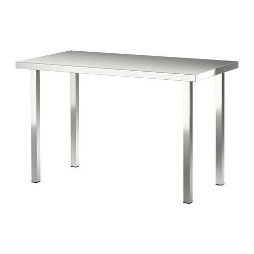 Exceptionnel Stainless Steel Table SANFRID/SJUNNE Table   IKEA $159
