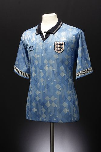 England Football Shirt 1990 92 Third By Umbrofootball Via Flickr Classic Football Shirts Retro Football Shirts Football Shirts