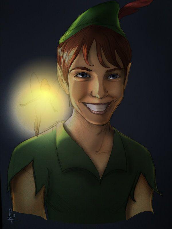 Peter Pan by Biro-boi.deviantart.com