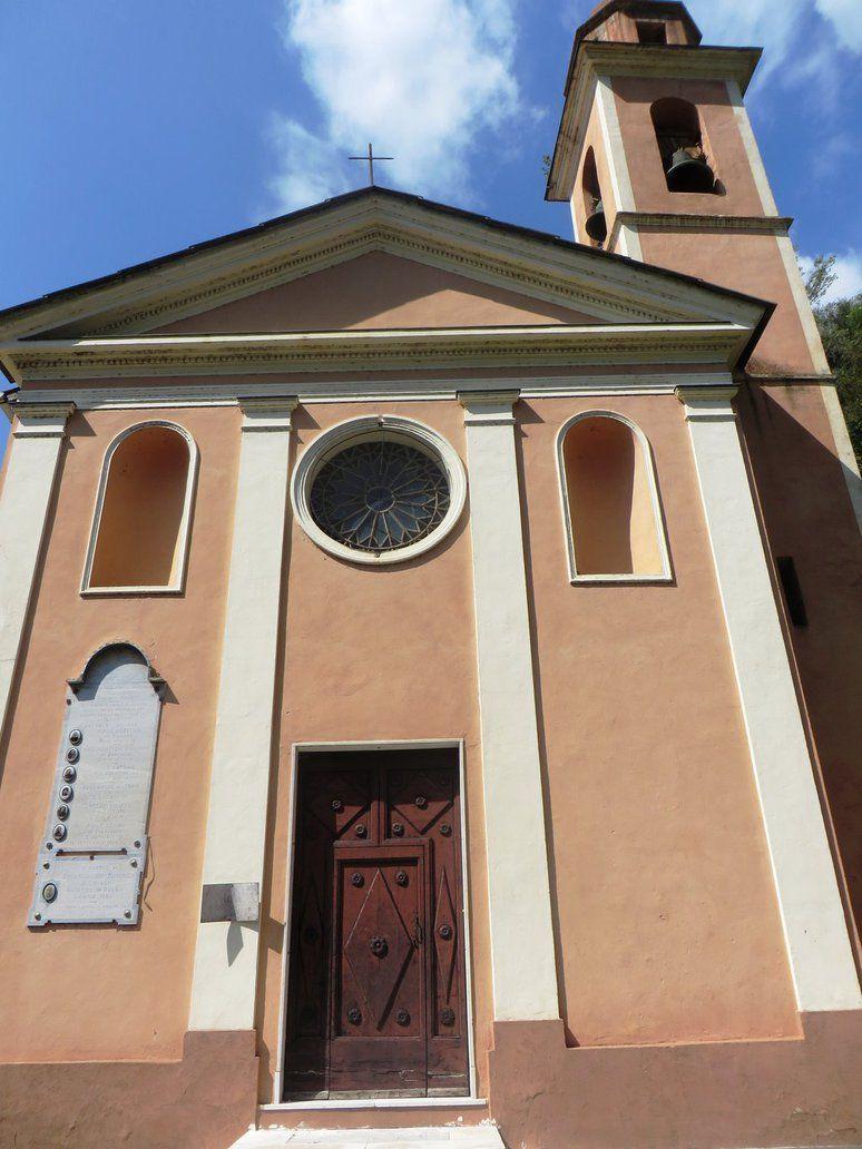 Trinità, Frazione di Camporosso (IM), Chiesa Parrocchiale della Santissima Trinità