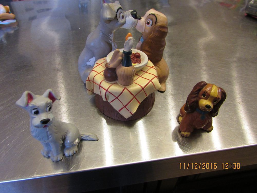 LADY TOY// CAKE TOPPER DISNEY BULLYLAND LADY /& TRAMP COLLECTABLE