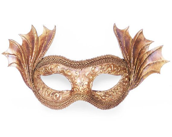 BABY PINK AND GOLD VENETIAN MASQUERADE BALL CARNIVAL PROM PARTY EYE MASK