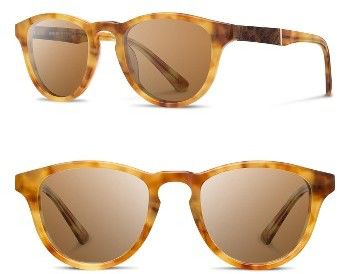 d43102bb41c6 Men s Shwood  Francis  49Mm Sunglasses - Amber  Elm  Brown