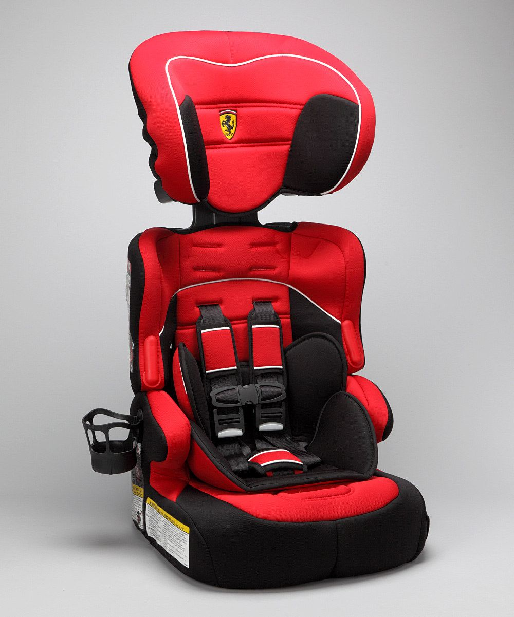 Red Beline Toddler Car Seat from #Ferrari on #zulily