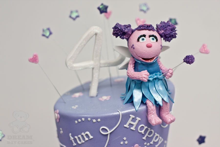 Outstanding Edible Abby Cadabby For A 4Th Birthday Cake From Dream Day Cakes Birthday Cards Printable Inklcafe Filternl