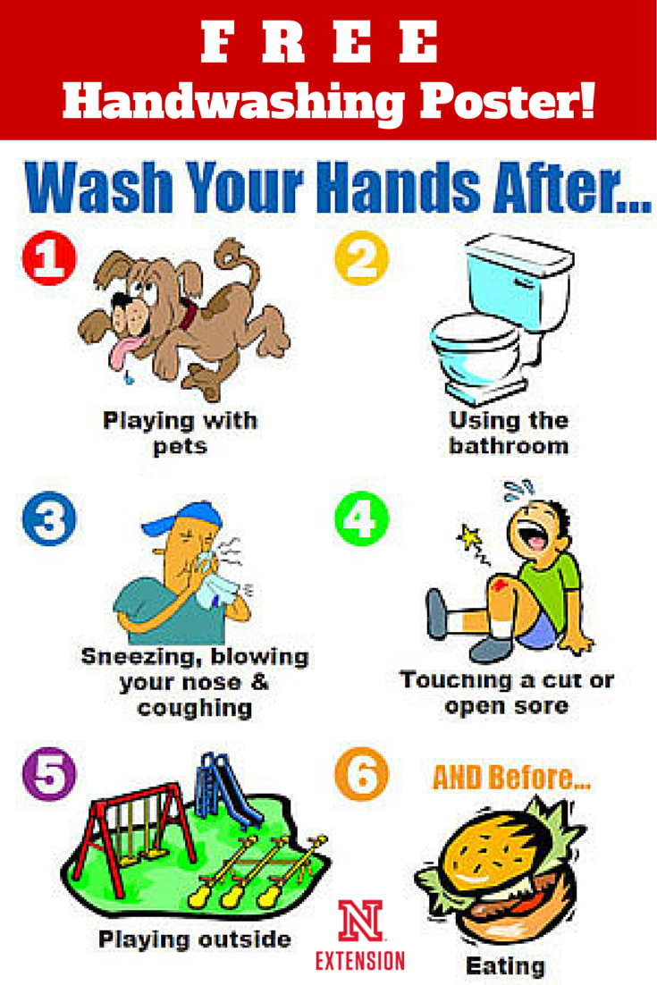 Geeky image with regard to free printable hand washing posters