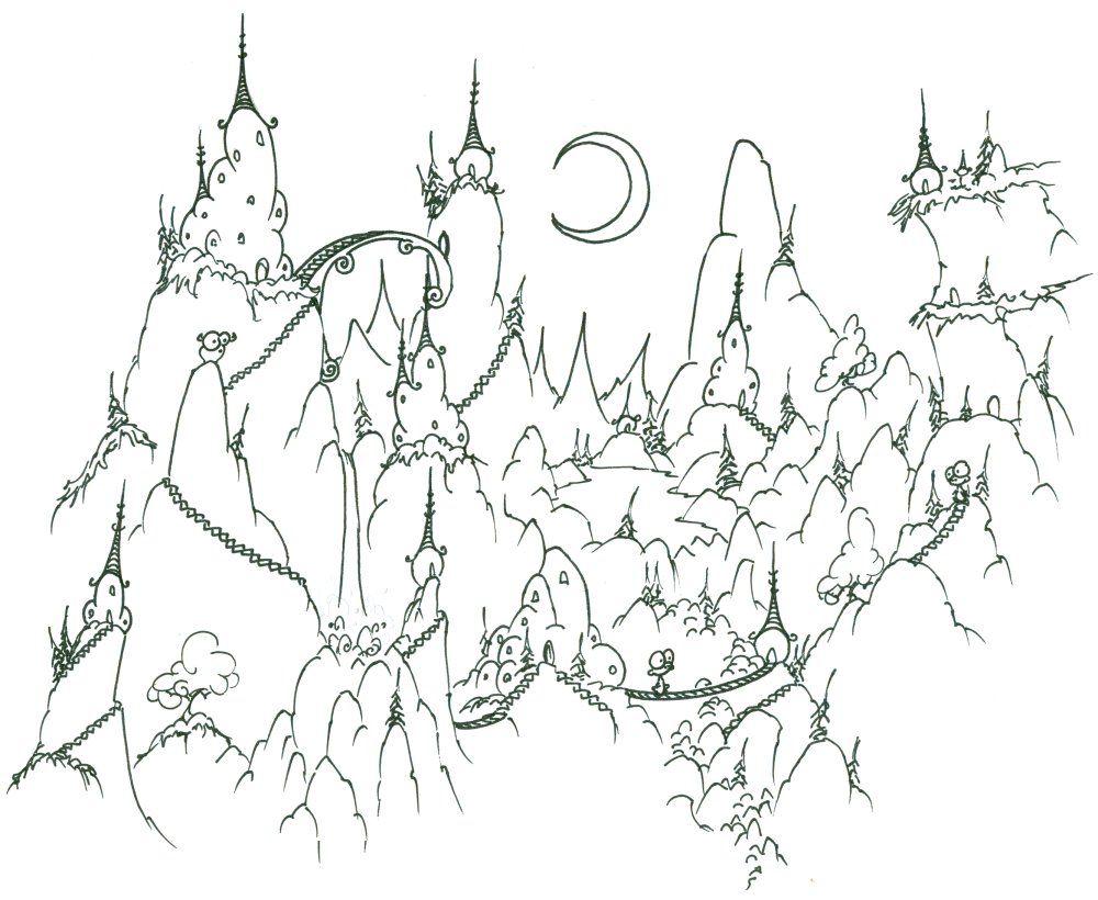Dibujos para colorear paisajes   dibujos   Pinterest   Colorear ...