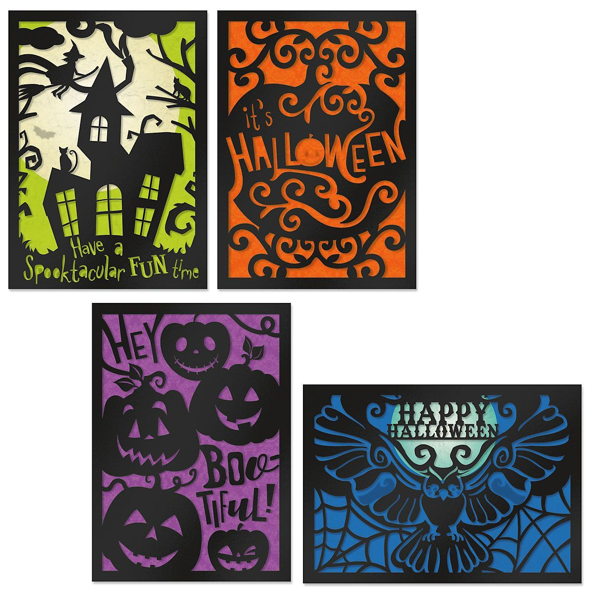 Current 2020 There Halloween Card Deluxe Haunted Halloween Cards in 2020   Halloween greeting card