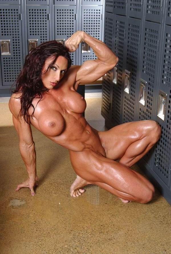 Naked bodybuilding girls — photo 9