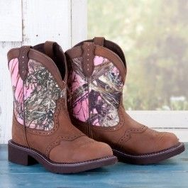 2017 Hottest Camo Boots Las Pink Gypsy Camouflage