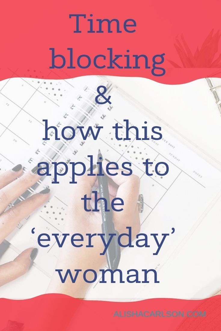 About a year ago I started using a system for setting up my schedule known as time blocking. Essenti...