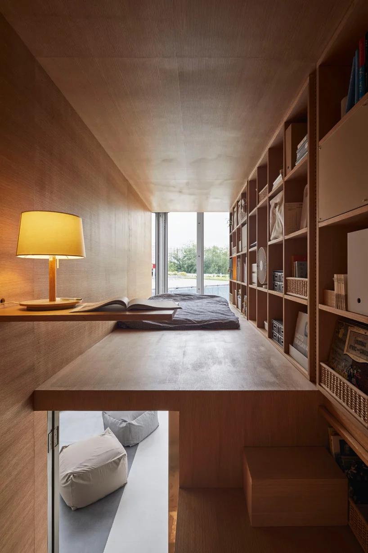 go hasegawa designs living space for MUJI at china house vision