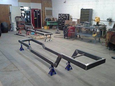 Rat Rod Double Z Frame Plans Rat Rod Truck Hot Rod Parts Rat
