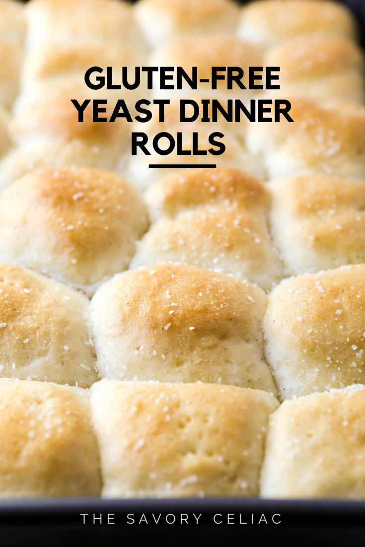 The Savory Celiac Gluten Free Yeast Dinner Rolls Recipe Gluten Free Yeast Free Yeast Free Breads Gluten Free Buns