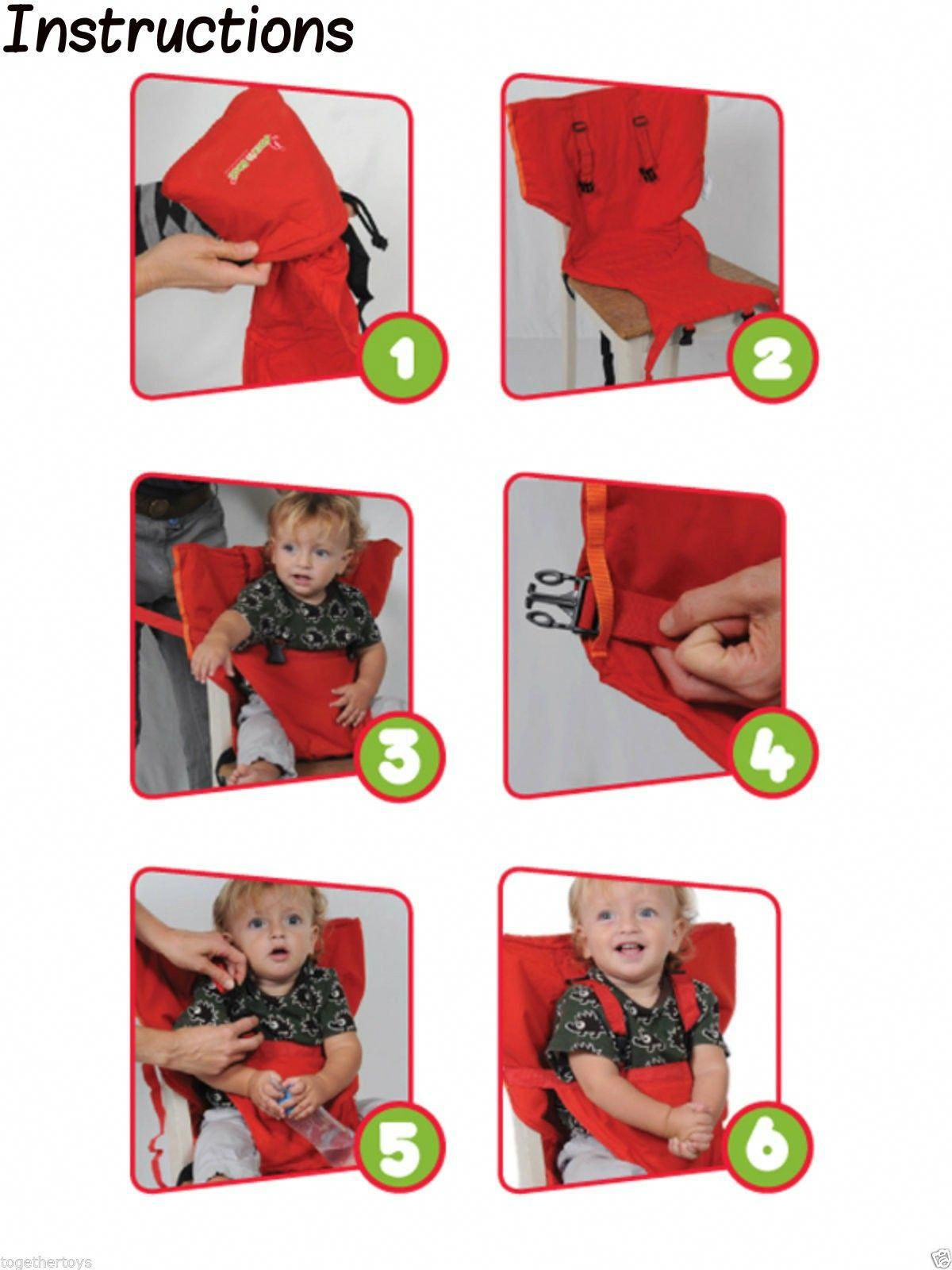55af57f895d Sack n Seat+ Baby Portable High Chair Shoulder Strap  portablehighchairs