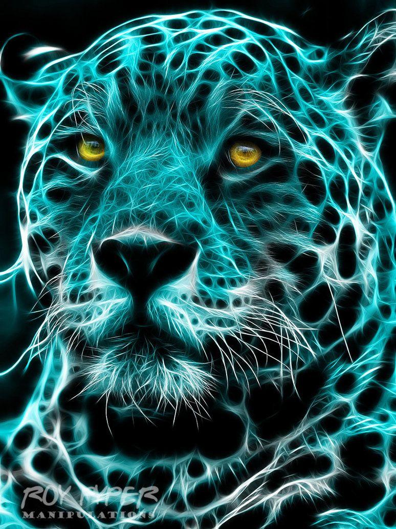 Areas the Jaguar: Fractalius Redux by nerdboy69 on DeviantArt