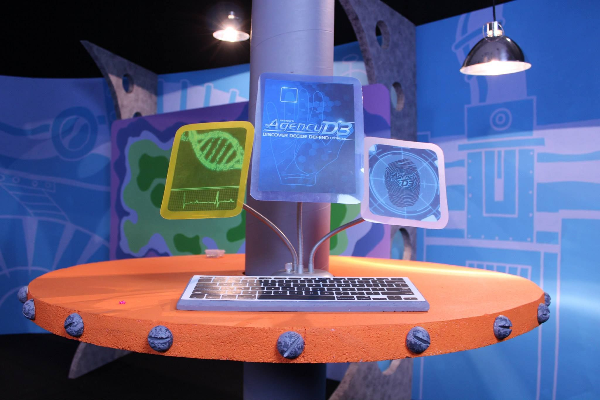 Agency 3d vbs decorations