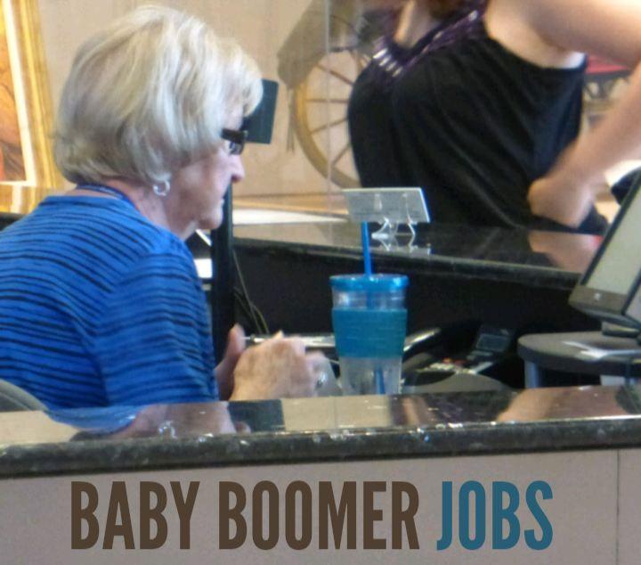 Baby boomer jobs baby boomers job good job