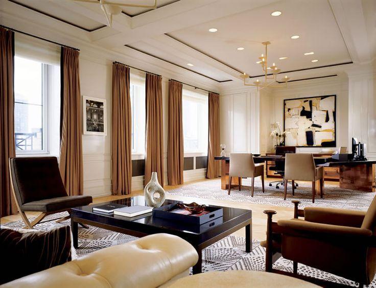 7 executive office interior design o pinterest for Executive office interior design