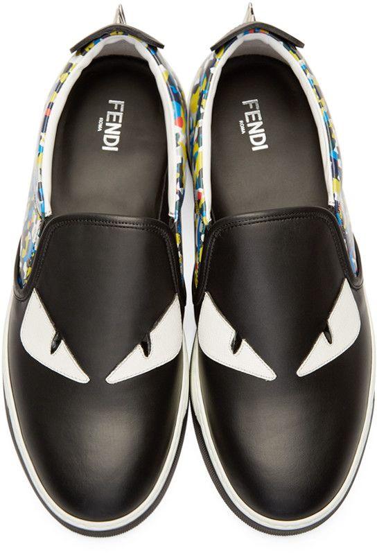 Fendi shoes, Sneakers men, Slip on sneakers
