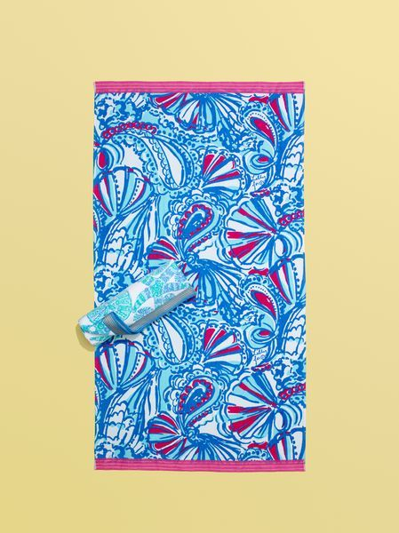 Lilly Pulitzer for Target towel // #fashion