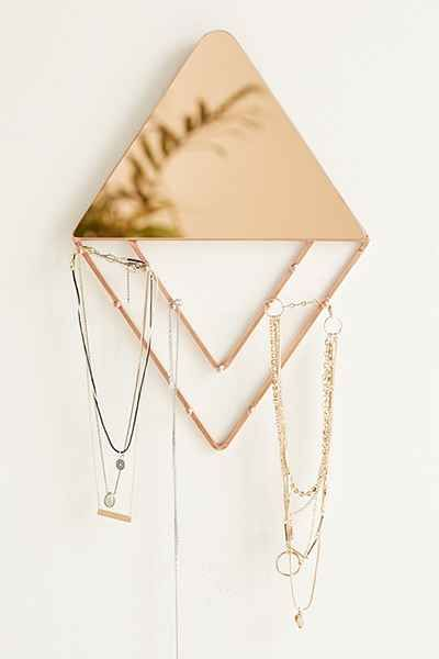Alexia Line Jewelry Storage Hanging Mirror Urban Outfitters
